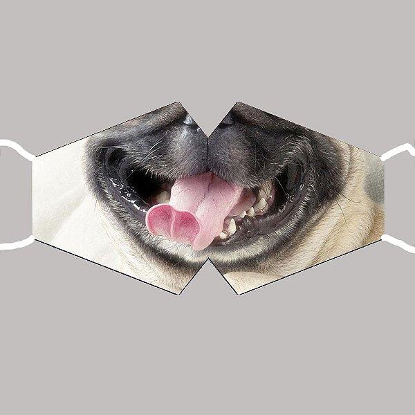 Máscara Pug
