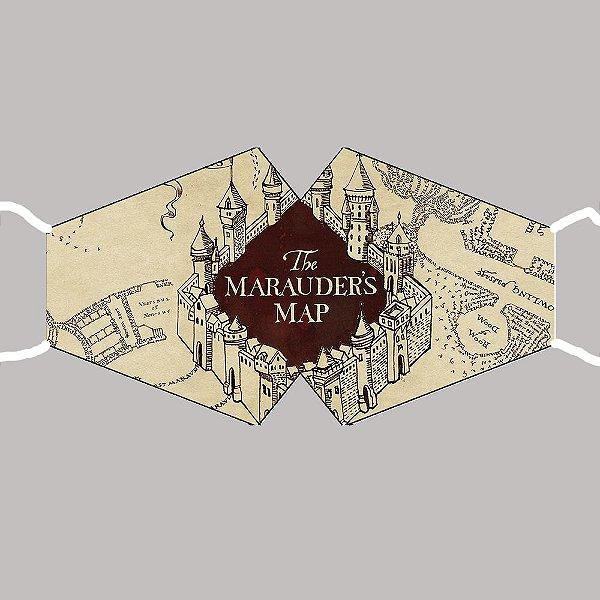 Máscara Harry Potter - Mapa do Maroto