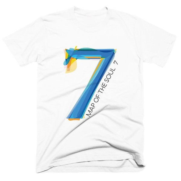 Camiseta BTS - Map of the Soul 7