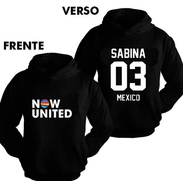 Moletom Now United - Sabina