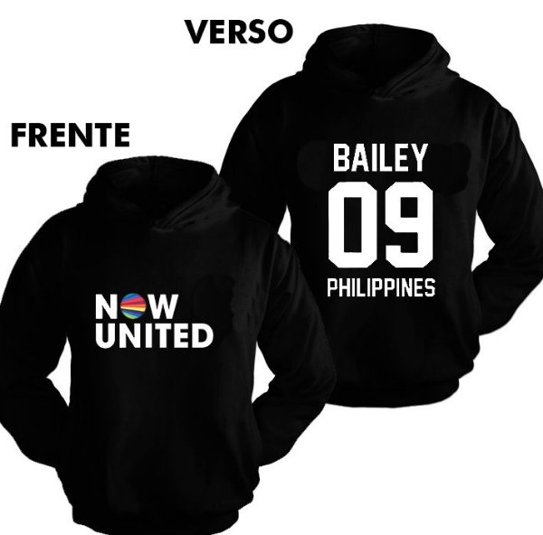 Moletom Now United - Bailey