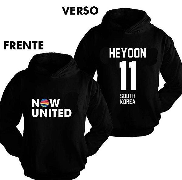 Moletom Now United - Heyoon