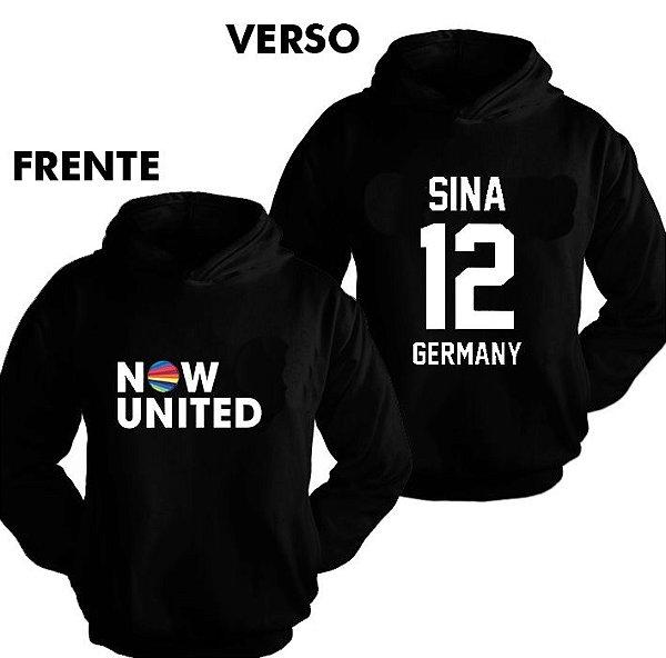 Moletom Now United - Sina