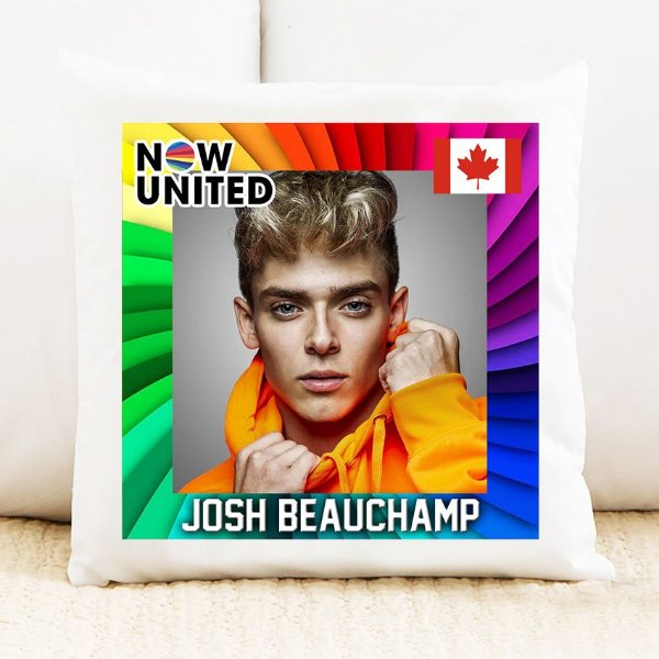 Almofada Now United - Josh Beauchamp