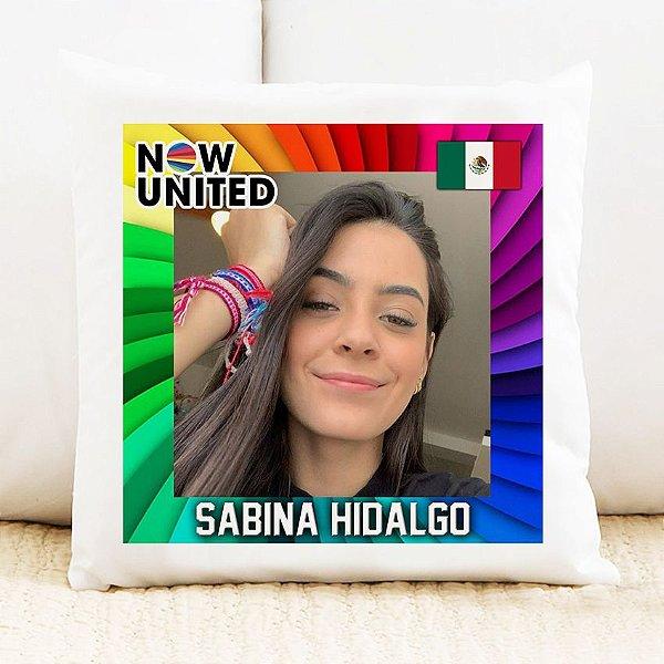 Almofada Now United - Sabina Hidalgo
