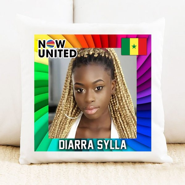 Almofada Now United - Diarra Sylla