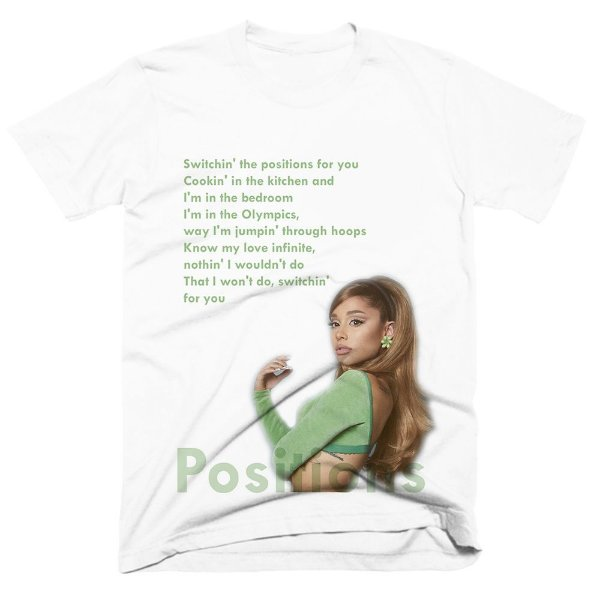 Camiseta Ariana Grande - Positions 2