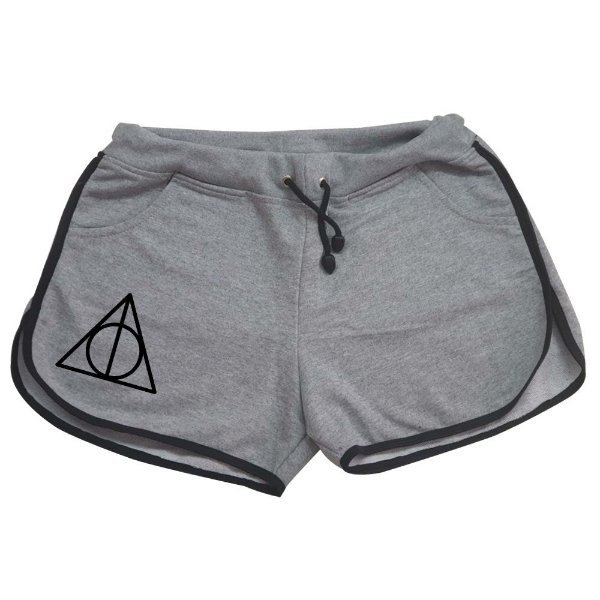 Shorts Harry Potter - Relíquas