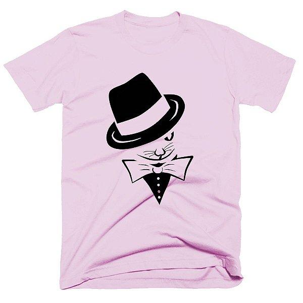 Camiseta Pet - Gato Gravata