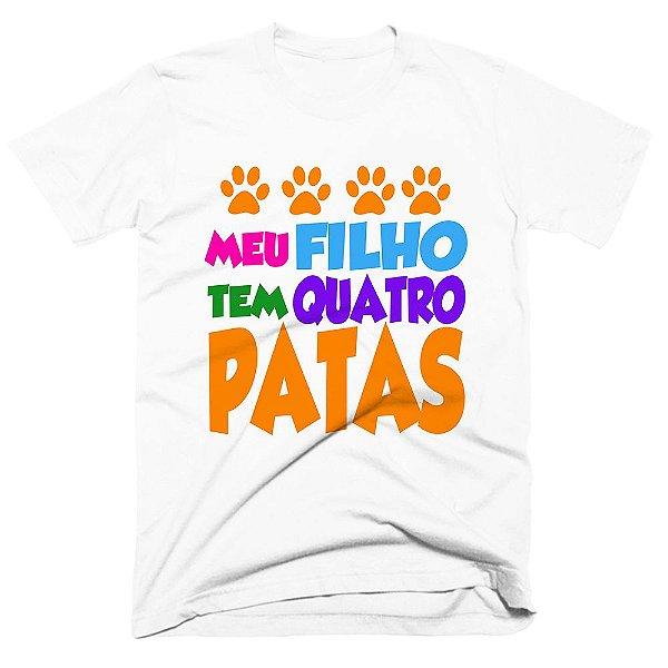 Camiseta pet - Filho de 4 patas