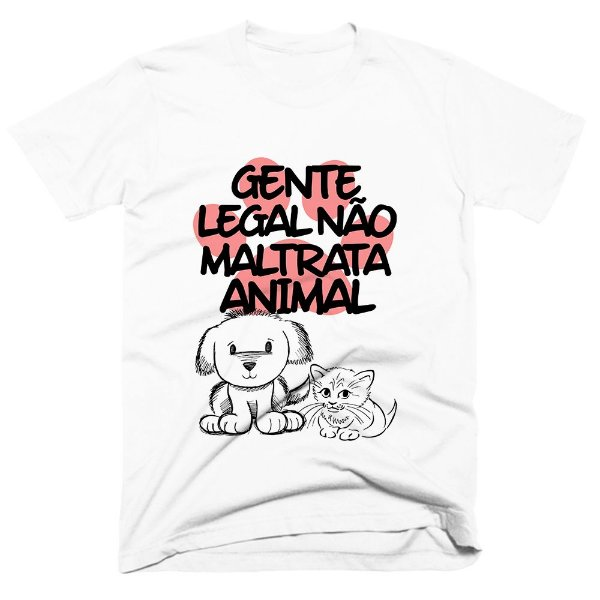 Camiseta pet - Gente Legal