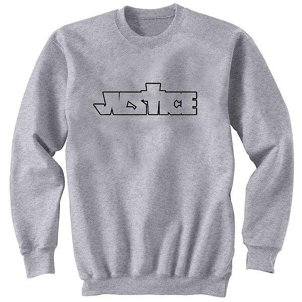 Moletom Justin Bieber - Justice Logo-