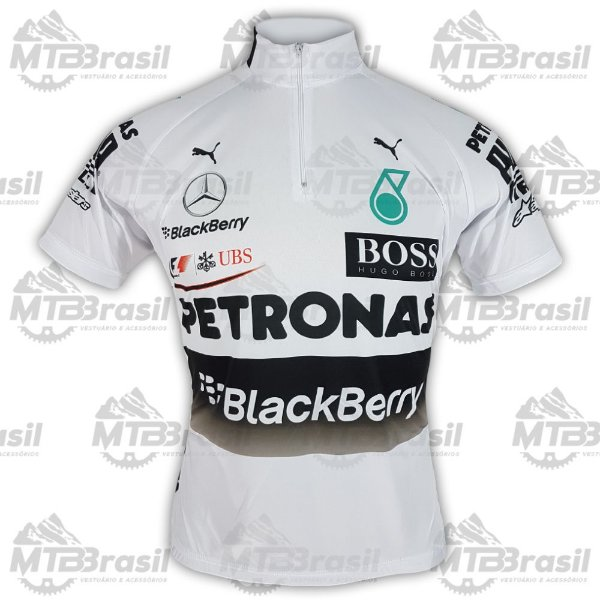 Camisa Ciclismo MERCEDES F1 - Camisas de ciclismo - MTB Brasil - MTB ... c0845183e7fdc