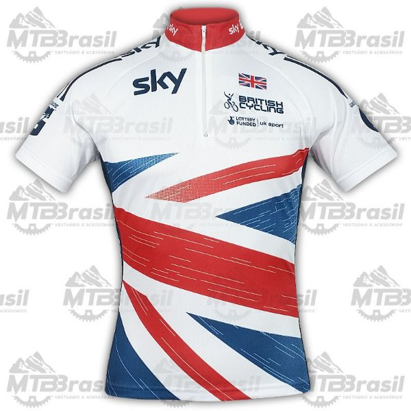 CAMISA CICLISMO SKY BRITISH CYCLING