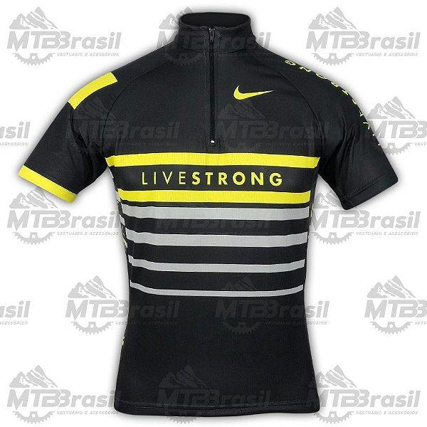 Camisa Ciclismo NIKE LIVESTRONG - Camisa de Ciclismo - MTB Brasil ... 4ac8febdffb41