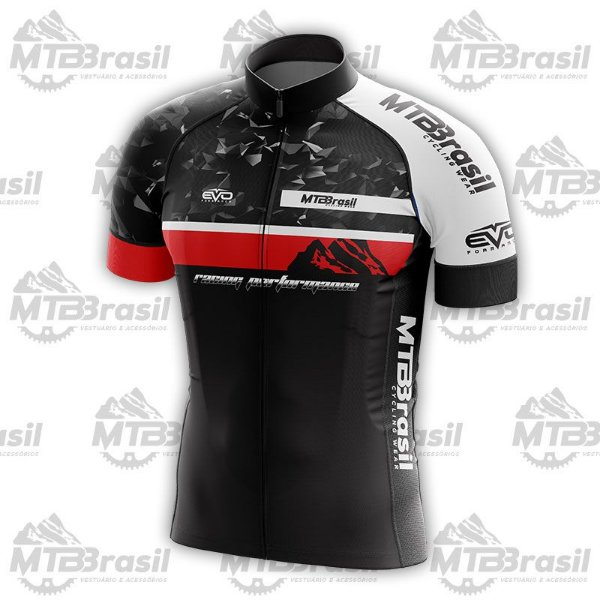 CAMISA CICLISMO MTB BRASIL RACING PERFORMANCE