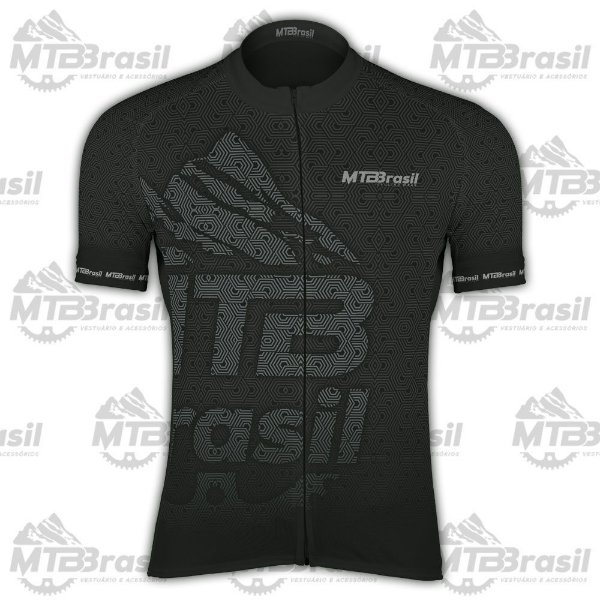CAMISA CICLISMO MTB BRASIL BLACK EDITION