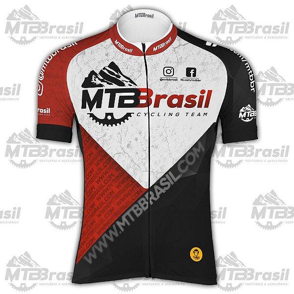 CAMISA CICLISMO MTB BRASIL CYCLING TEAM