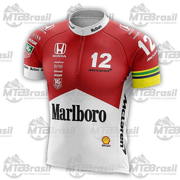 5e0614f4b4 Camisa Ciclismo MCLAREN MP4/4 AYRTON SENNA - Camisas de ciclismo ...