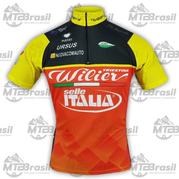 CAMISA CICLISMO TEAM WILIER