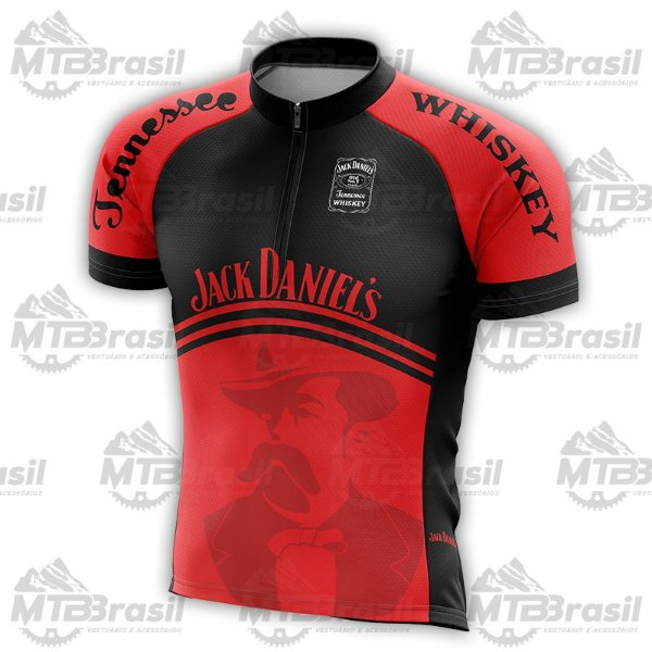 CAMISA CICLISMO JACK DANIELS RED