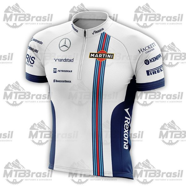 CAMISA CICLISMO WILLIAMS MARTINI RACING