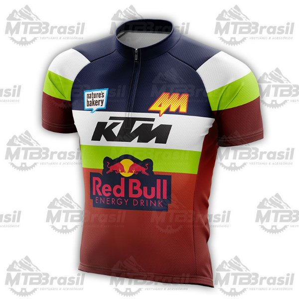 CAMISA CICLISMO RED BULL KTM