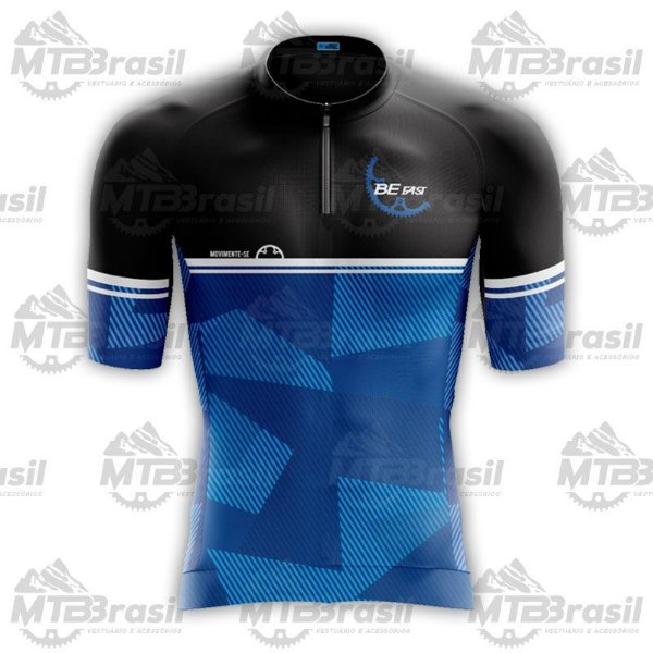 CAMISA CICLISMO BLUE CROWN