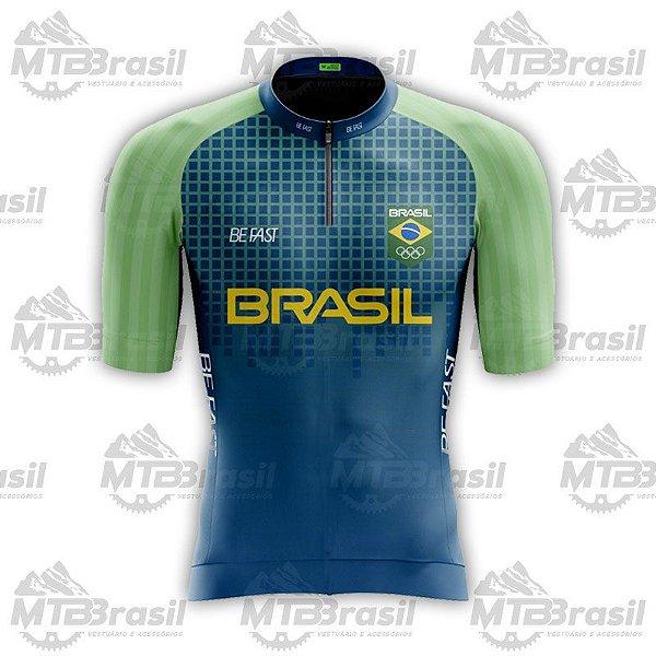 CAMISA CICLISMO SELEÇÃO BRASILEIRA