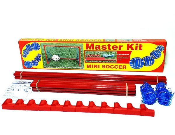 Kit Quadra Mini Soccer Portátil