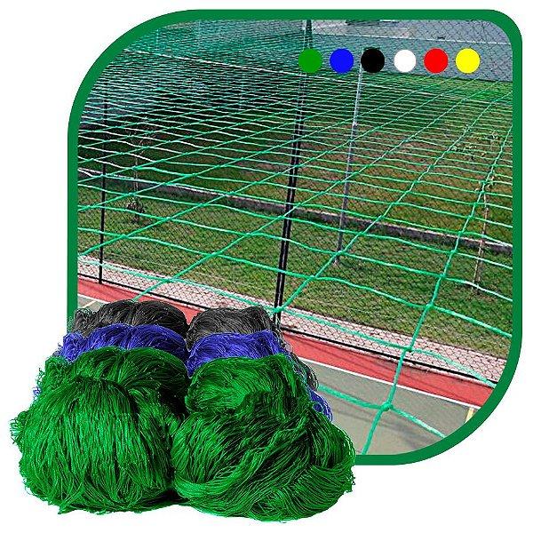 Rede de Proteção Esportiva Sob Medida Para Campo/Quadra de Futebol e Society Fio 2mm Malha 15cm Nylon