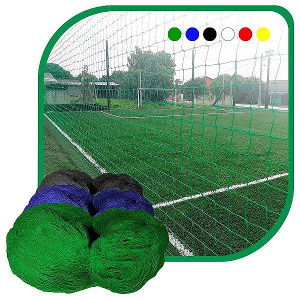 Rede de Proteção Esportiva Sob Medida Para Campo/Quadra de Futsal, Futebol, Society Fio 4 Malha 10cm