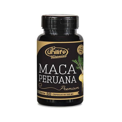 Maca Peruana Premium Unilife Cápsulas.