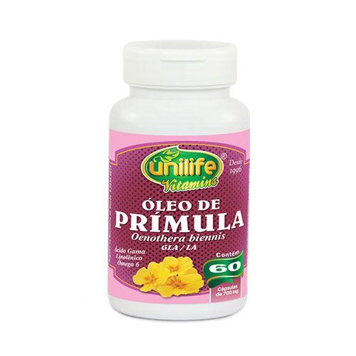 Óleo de Prímula Unilife Cápsula 500mg