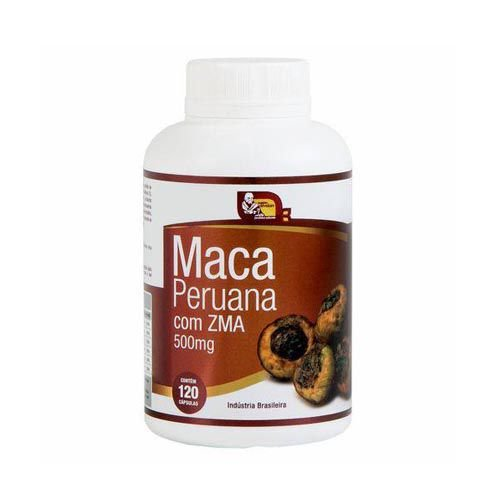 Maca Peruana Com ZMA - 120 Cápsulas