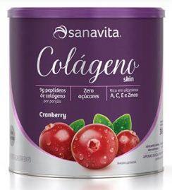 Colágeno skin sabor cramberry