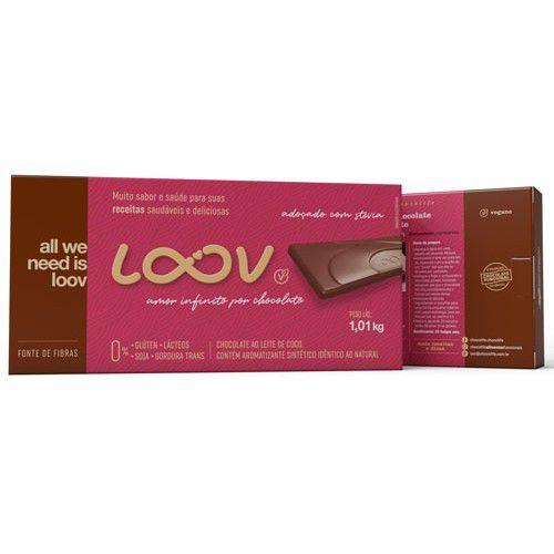 Chocolate Loov Ao Leite De Coco 1,01kg