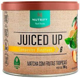 Juiced up matcha com frutas tropicais 200g