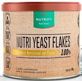 Nutri yeast flakes - levedura nutricional 100g