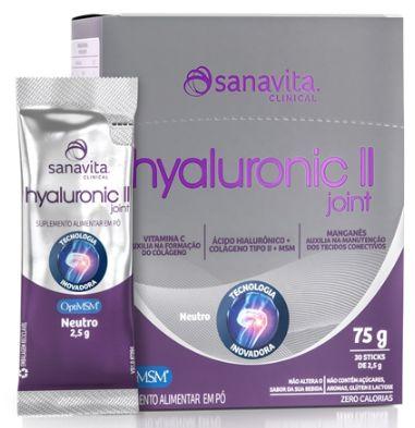 Hyaluronic II Joint 30 sachês de 2,5 g