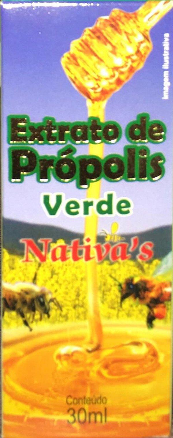 Extrato de própolis verde Nativa's 30 ml