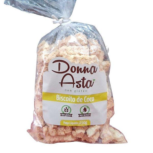 Biscoito de Coco sem Glúten Donna Asta