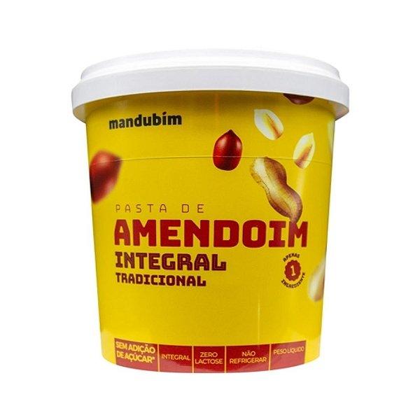 Pasta de Amendoim com Integral Mandubim 1,02 kg