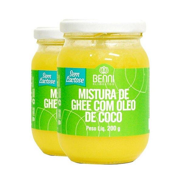 Manteiga Ghee com Óleo de Coco Benni 200g