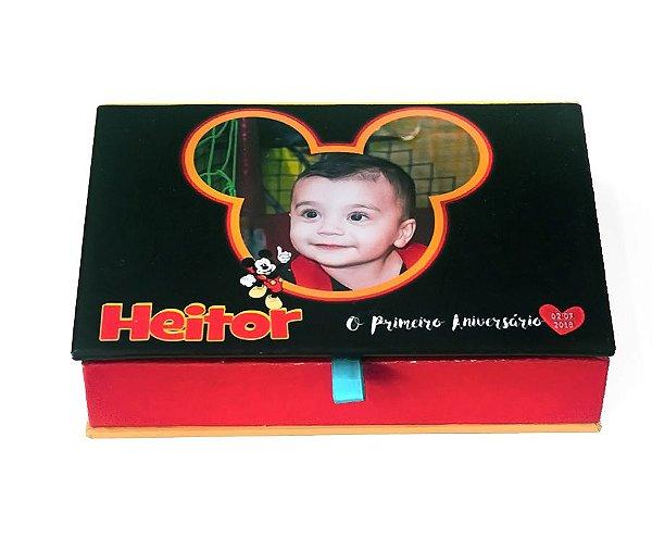 Caixa box 10x15 Mickey