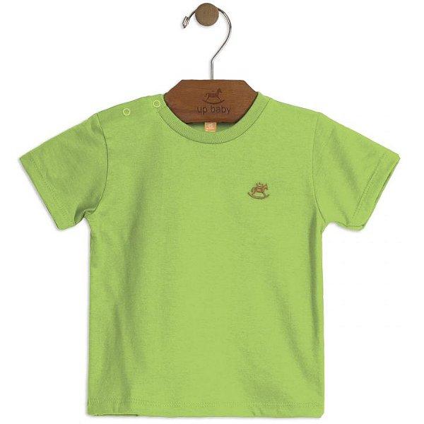 Camiseta Manga Curta Verde Up Baby