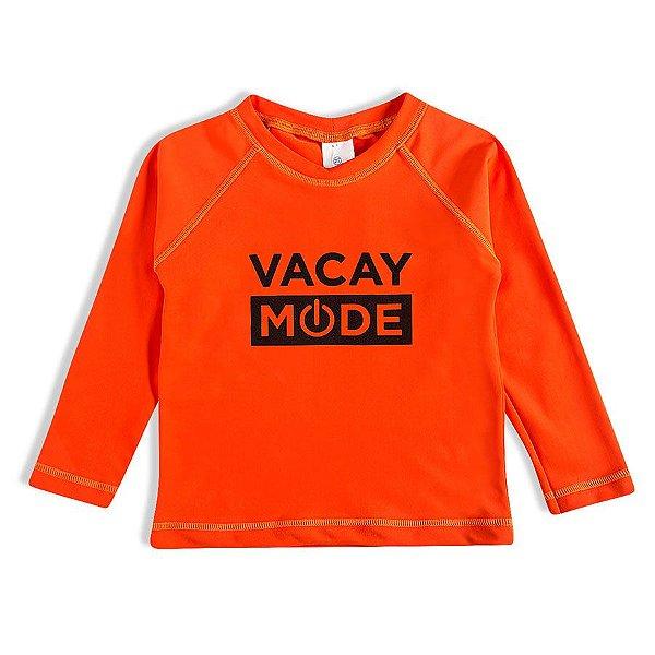 Camiseta Praia Laranja Tip Top