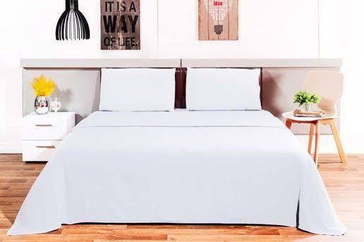 Jogo de cama loft casal microfibra com toque macio - camesa