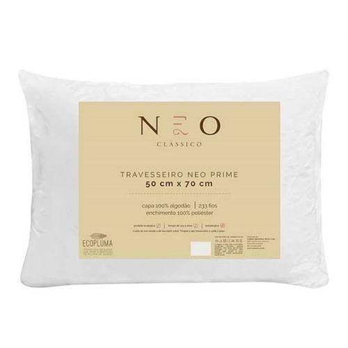 Travesseiro Neo Prime ECOPLUMA antialérgico - Camesa