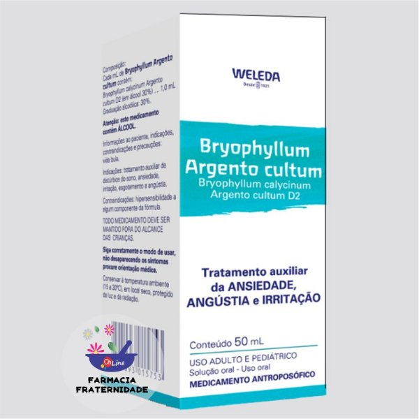 Bryophyllum calycinum Argento cultum D2 50 ml